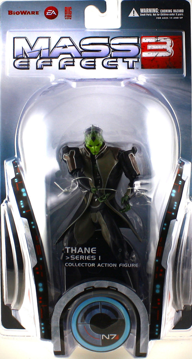 "Mass Effect 3 7"" Action Figure - Thane (series 1) image"