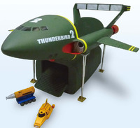 Aoshima Super Size Thunderbird 2 Model Kit