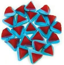 Rainbow Confectionery Blue Volcanoes Lollies Bulk Bag 1kg