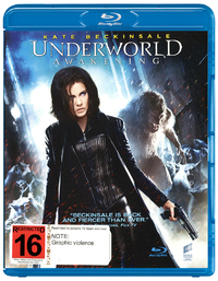 Underworld: Awakening on Blu-ray