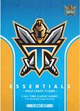 NRL Essentials: Gold Coast Titans on DVD