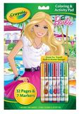Crayola - Barbie Colouring Activity Pad with Markers