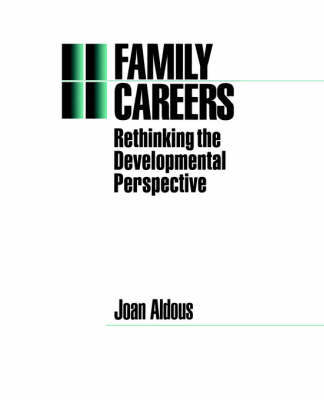 Family Careers by Joan Aldous image