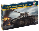 Italeri: 1/35 Pz.Kpfw.V Panther Ausf. G Late - Model Kit