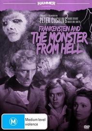 Hammer Horror - Frankenstein And The Monster From Hell on DVD