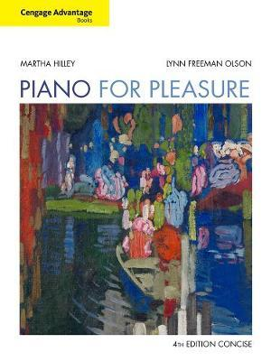 Cengage Advantage Books: Piano for Pleasure, Concise by Lynn Olson image