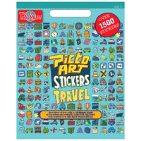 PictoArt: Travel - Stickers Book