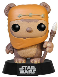 Star Wars Ewok Wicket Pop! Vinyl Bobble Head Figure