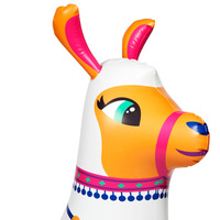 Pumpt: Llama Ride-On - Inflatable Pool Float image