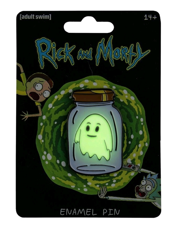 Rick and Morty: Enamel Pin - Ghost in a Jar