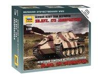 Zvezda 1/100 Jagdpanther Scale Model Kit