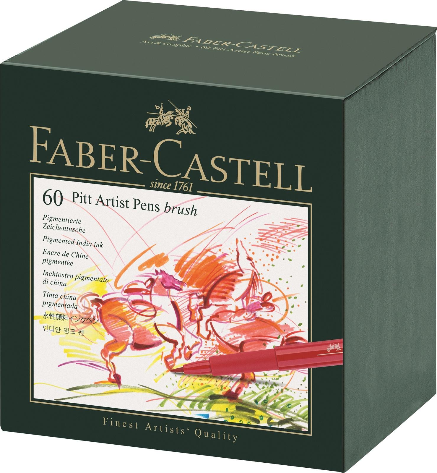 Faber-Castell: Pitt Artist Pens B Studio (Box of 60) image