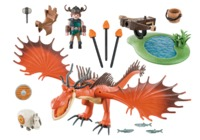 Playmobil: How to Train Your Dragon - Snotlout & Hookfang (9459)