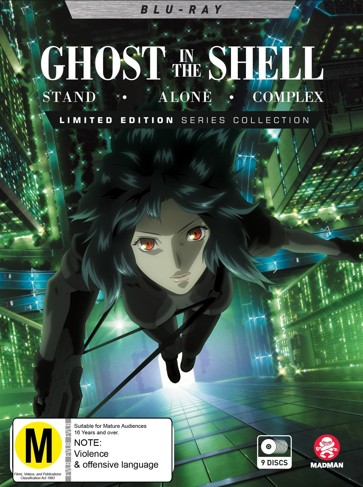 Ghost In The Shell Stand Alone Complex Blu Ray Buy Now At Mighty Ape Nz