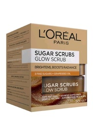 L'Oreal Paris Smooth Sugar Scrubs - Glow Scrub (50ml)