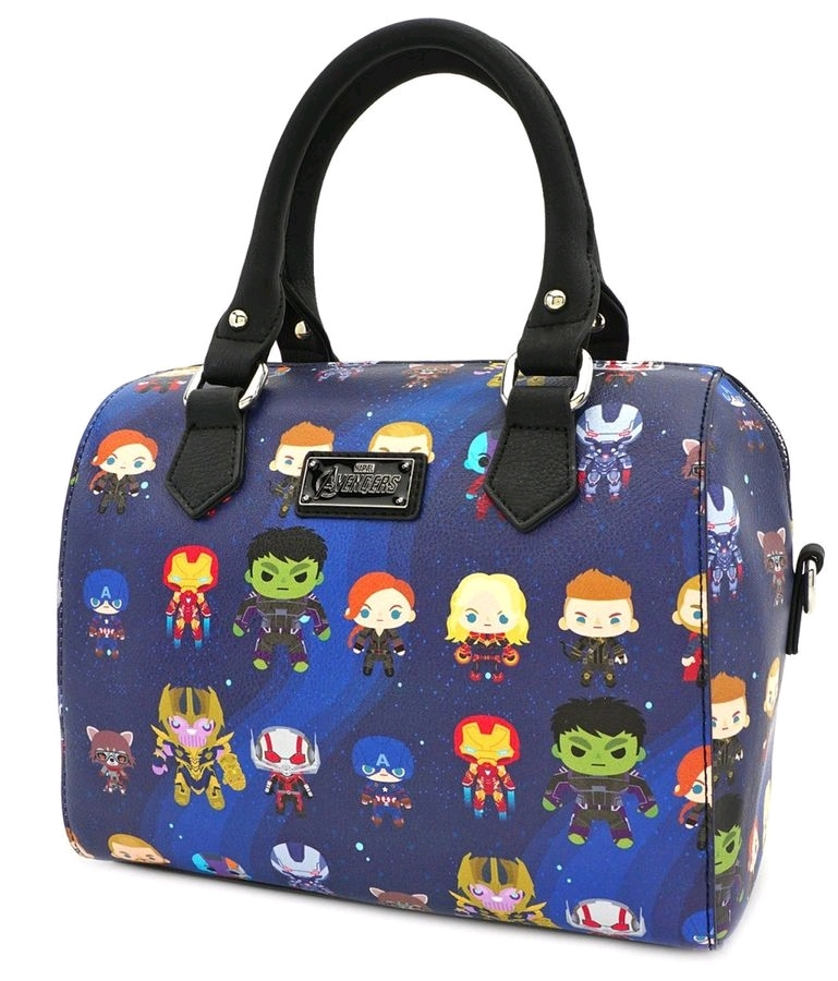 Loungefly Avengers Endgame - Chibi Print Mini Duffle Bag image