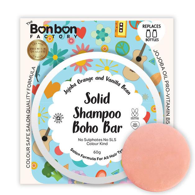 The Bonbon Factory - Solid Boho Shampoo Bar (60gm)