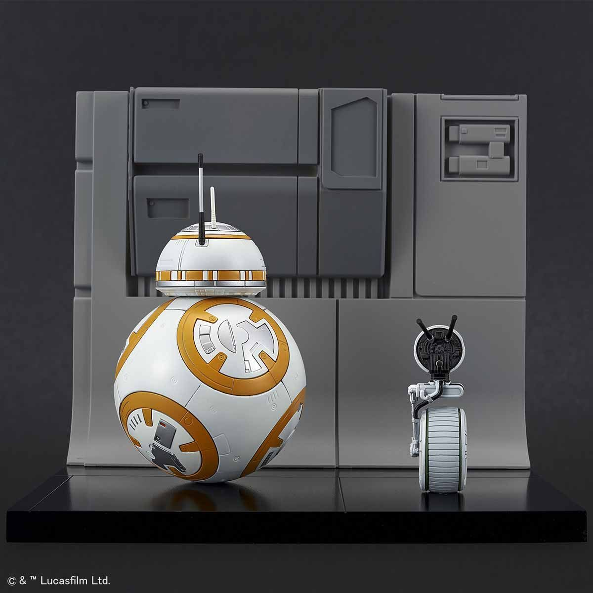 Star Wars: 1/12 BB-8 & D-O Diorama Set - Model Kit image