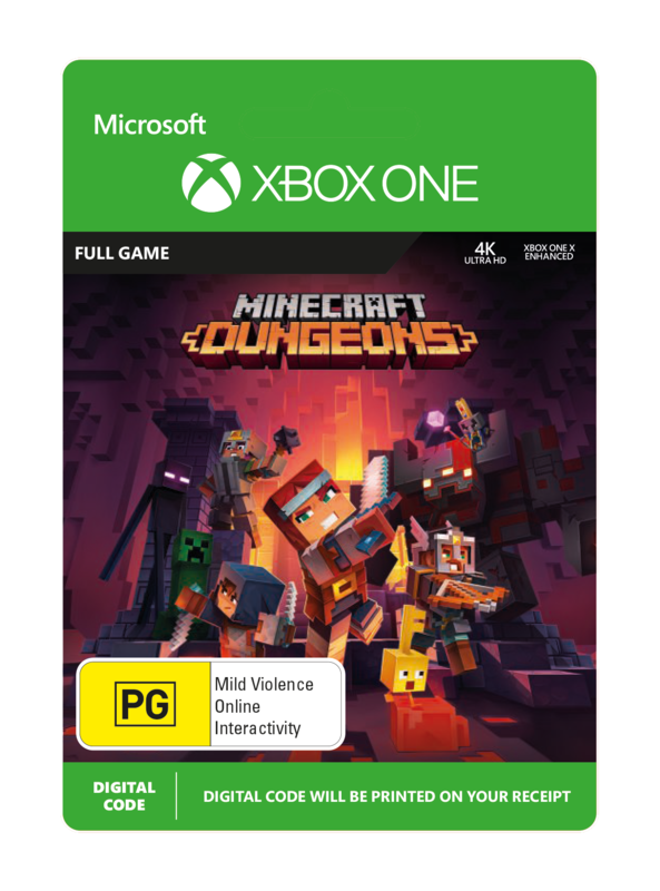 Minecraft Dungeons (Digital Code) for Xbox One
