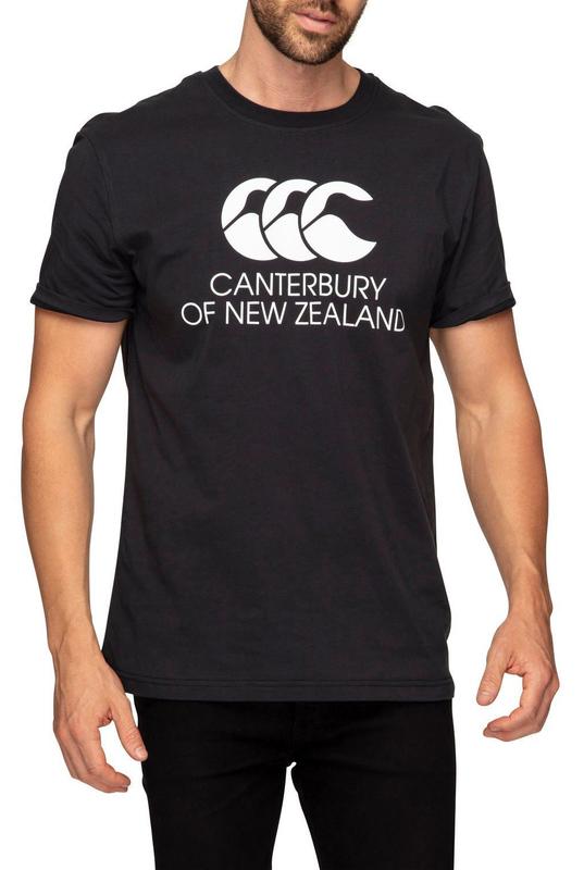 Canterbury: Mens Stadium Tee - Black (Small)