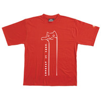 Longcat - Tshirt (Red) for  image