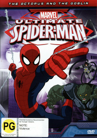 Ultimate Spider-Man: The Octopus and The Goblin on DVD