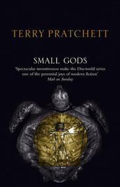 Small Gods (Discworld - History Monks) (black cover) by Terry Pratchett image