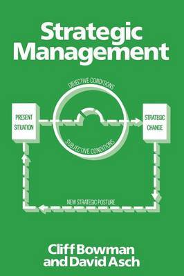 Strategic Management by Cliff Bowman image