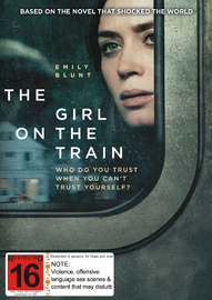 The Girl On The Train DVD image