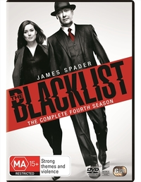 The Blacklist - Season Four on DVD