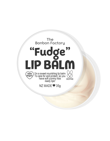 The Bonbon Factory Lip Balm - Fudge (35g)
