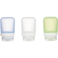 GoToob+ Triple Pack Silicone Travel Bottles - Medium (74ml)