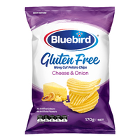 Bluebird Gluten Free Cheese & Onion 170g