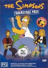 The Simpsons - Backstage Pass on DVD