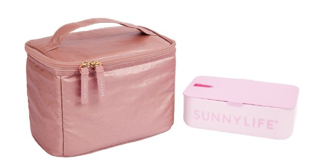 Sunnylife: Lunch Bag - Electric Bloom/Pink
