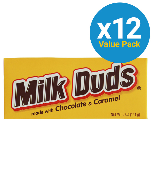 Milk Duds Theater Box 141g (12 Pack)