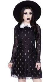 Killstar: Misty Collar Dress - S