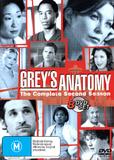 Grey's Anatomy - Season 2 (8 Disc Slimline Set) on DVD