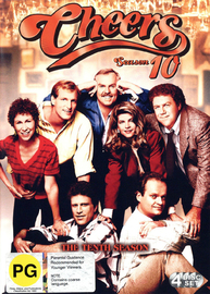 Cheers - Complete Season 10 (4 Disc Set) on DVD
