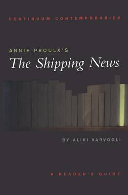 """Annie Proulx's """"The Shipping News"""" by Kate Webb"""