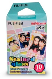 Fujifilm Instax Mini Film 10 Pack - Stained Glass