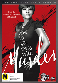 How To Get Away With Murder - The Complete First Season on DVD image