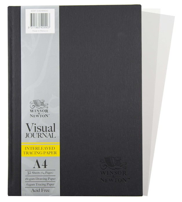 Winsor & Newton Interleaven HB 180gsm 32 Sheet A4