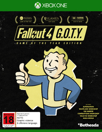 Fallout 4 Game of the Year Edition for Xbox One