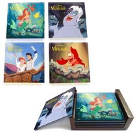 The Little Mermaid: StarFire Prints Glass Coaster Set