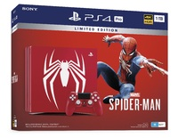 PlayStation 4 PRO 1TB Marvel's Spider-Man Limited Edition Console bundle for PS4
