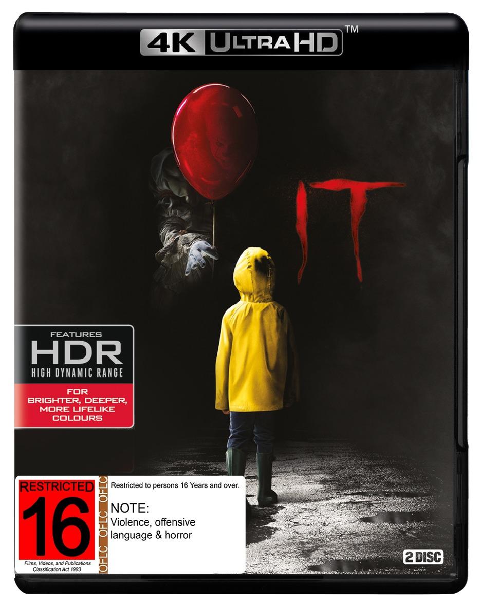 IT (2017) (4K Blu-ray + Blu-ray) on UHD Blu-ray image