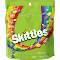 Skittles Sour Resealable Bag (204g)