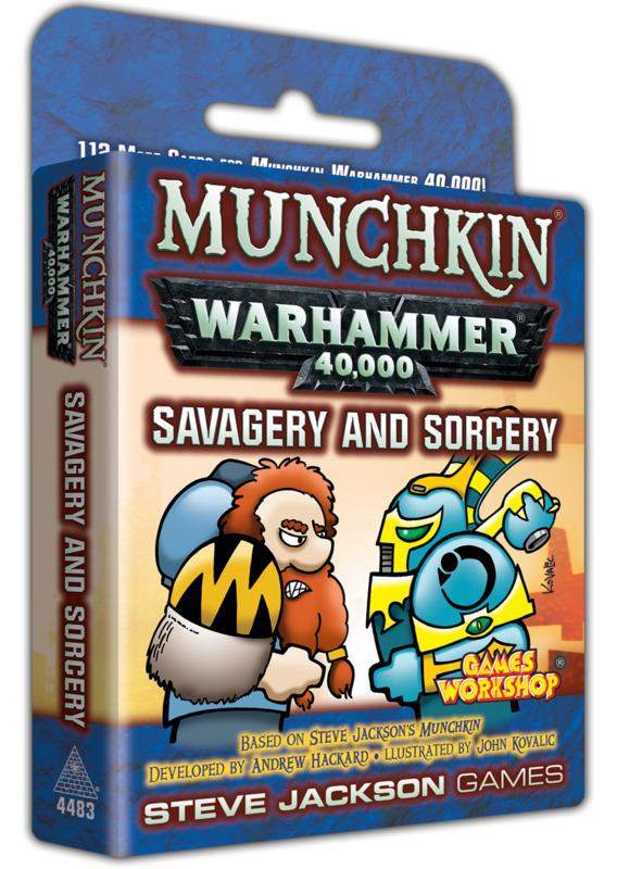 Munchkin: Warhammer 40,000 - Savagery & Sorcery Expansion
