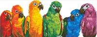 Diamond Dotz: Facet Art Kit - Rainbow Parrots